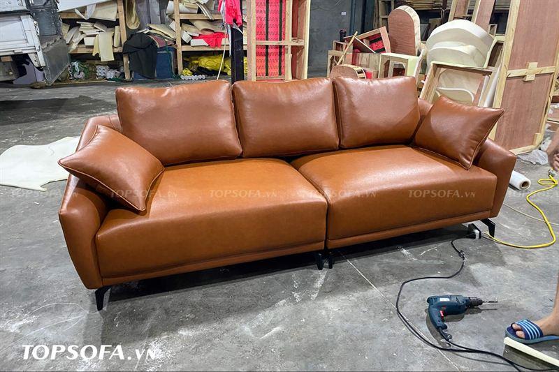 Sofa vang 3 chỗ TS315 đẹp