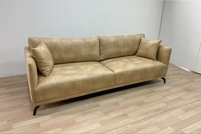 Sofa văng da TS 310 góc nghiêng