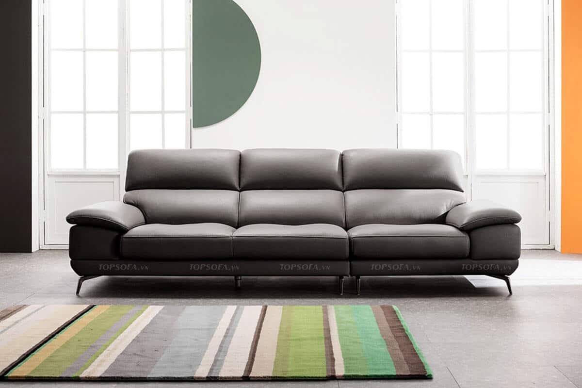 Sofa da văng TS320 có kiểu dáng hiện đại, mang đến vẻ đẹp đẳng cấp cho ngôi nhà của bạn