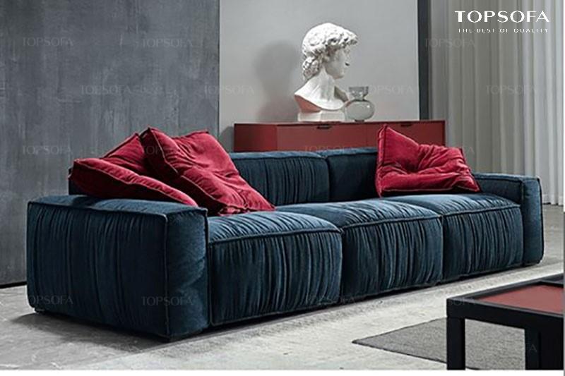 Sofa văng nỉ TS318 3 chỗ ngồi