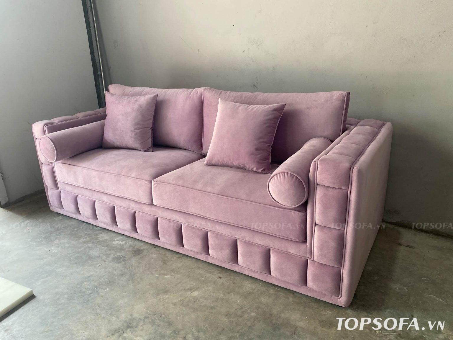 Sofa văng nỉ TS328 2 chỗ