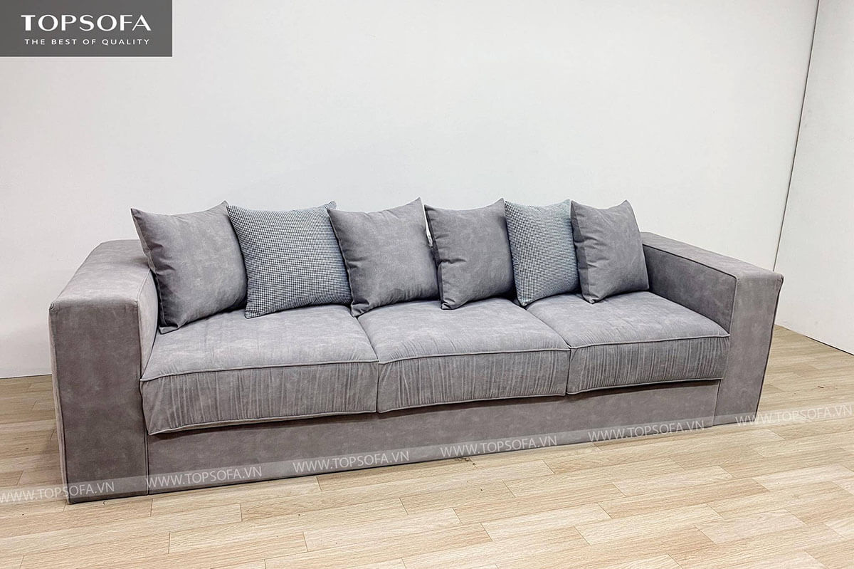 Sofa văng có nhiều kích thước khác nhau phù hợp với đa dạng không gian.