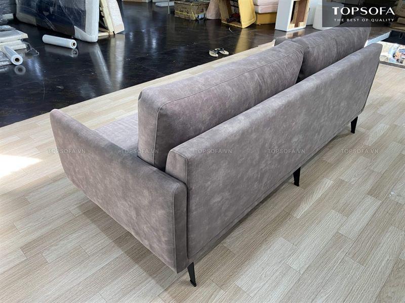 Sofa văng nỉ TS 317 mặt sau