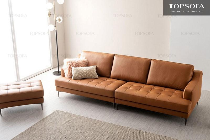 Thiết kế đơn giản, sofa văng TS321 phù hợp với những ngôi nhà có thiết kế hiện đại và diện tích nhỏ gọn