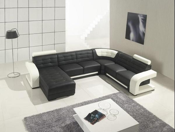 Sofa màu đen công nghiệp có nhiều mẫu mã, kiểu dáng bắt mắt