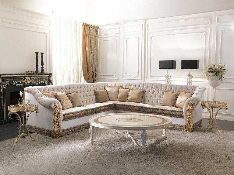 Sofa góc với phong cách thiết kế đa dạng phù hợp với nhiều không gian khác nhau.