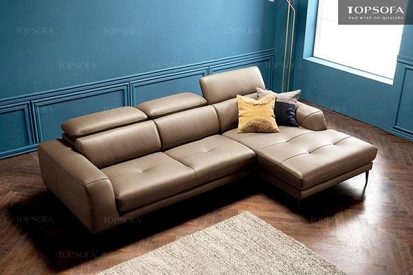 Không quá cầu kỳ về kiểu dáng, nhưng sofa góc TS207 vẫn mang lại vẻ đẹp sang trọng cho ngôi nhà bạn.