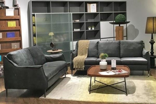 Đây là một bộ sofa gồm 1 chiếc sofa văng 2 chỗ và 1 sofa 3 chỗ. Thiết kế phong cách Italy hiện đại, theo thiên hướng mảnh mai với độ cao của lưng và độ sâu của đệm ngồi được thiết kế phù hợp với kích thước của người châu Á. Phần tay vịn được thiết kế tối giản khiến chiếc sofa trông rất thanh thoát.