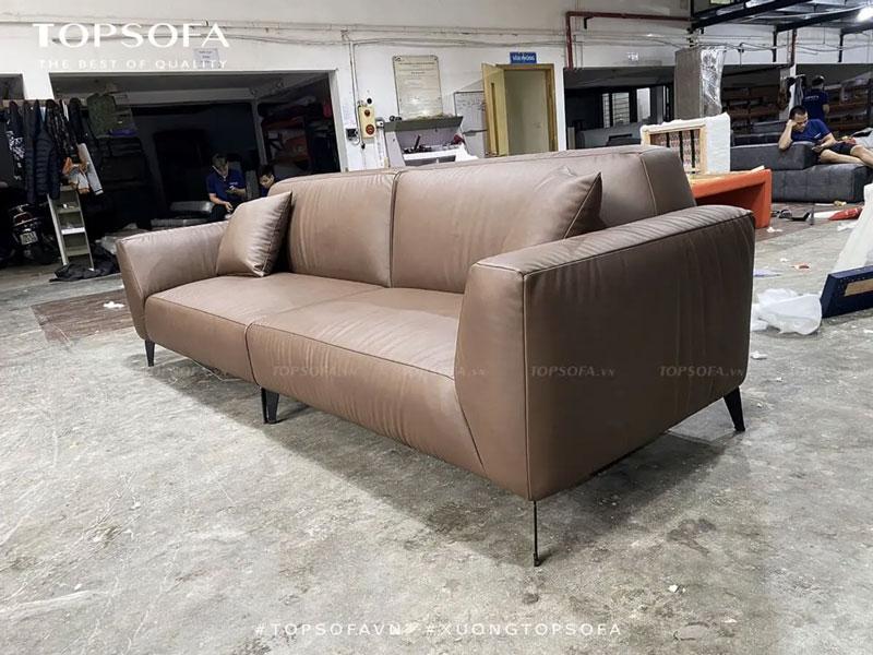 chân ghế sofa da TS347