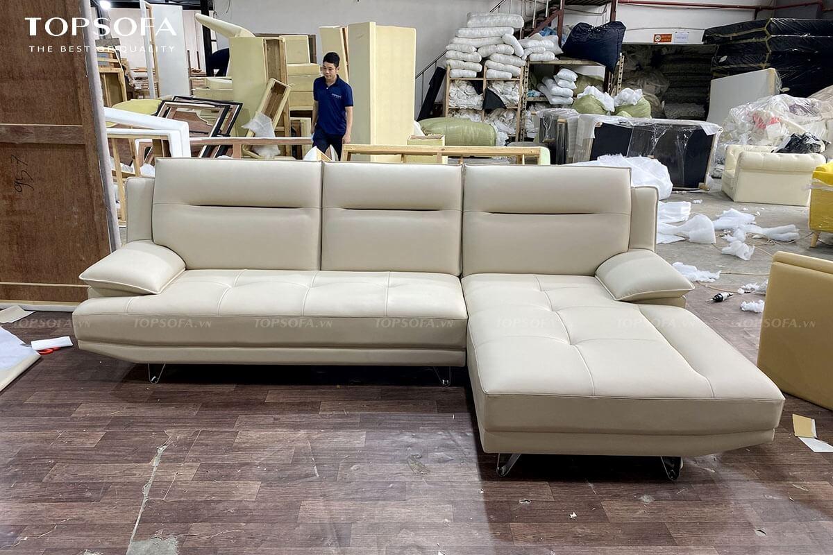 sofa goc da TS243 boc da sang trọng