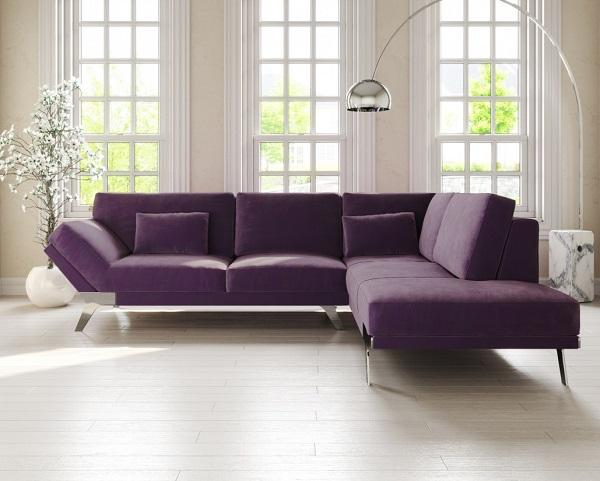 Một bên là cánh tay nghiêng, một bên là phần ghế trải dài không tay vịn kết hợp với chỗ ngồi cố định, đệm lưng và đệm ngồi êm ái, mẫu sofa này hứa hẹn sẽ mang đến sự thoải mái tuyệt vời cho người sử dụng