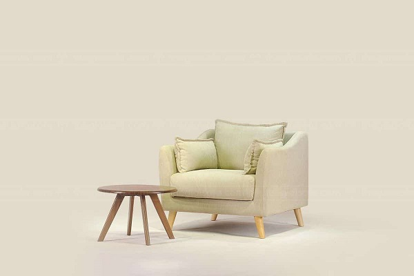 Sofa văng mini ghế đơn 1 chỗ có thiết kế vuông vắn quen thuộc thể hiện sự quý phái. Hệ thống khung và đệm ghế được kết hợp hài hòa mang đến cho người dùng cảm giác dễ chịu khi sử dụng. Bạn có thể kết hợp với bàn tròn để hoàn thiện không gian sống gia đình