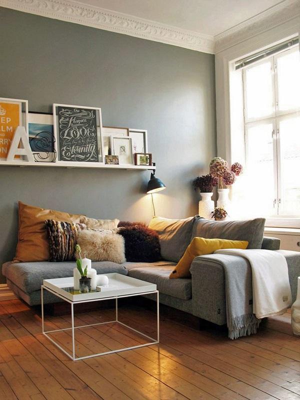 Sử dụng các loại gối tựa, gối ôm đa dạng màu sắc, kiểu dáng, kích cỡ, chất liệu… mẫu sofa góc 2m này đem đến sự lựa chọn đa dạng hơn cho người dùng