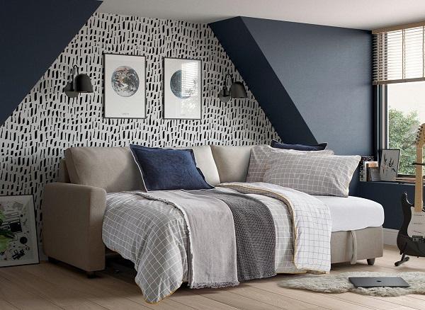 Tuy chỉ là chiếc giường kéo linh hoạt, có thể thu vào, kéo ra tức thời nhưng chiếc giường đơn này vẫn đủ vững chãi để người sử dụng nằm thoải mái trên đó