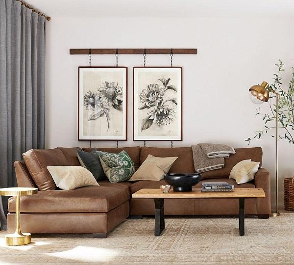 Để mang lại không gian phòng khách tiện nghi mà vẫn đảm bảo tính thẩm mỹ, đừng quên chọn sofa hòa hợp với các đồ nội thất khác.