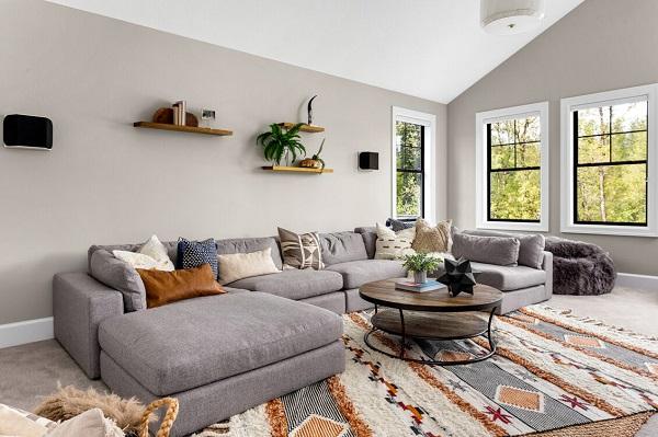 Chiếc sofa góc 3m chữ U này đem đến cho gia đình bạn một không gian nội thất rộng rãi, giúp bạn có thể thư giãn, nghỉ ngơi hay tiếp đãi bạn bè một cách lịch sự, thoải mái nhất.
