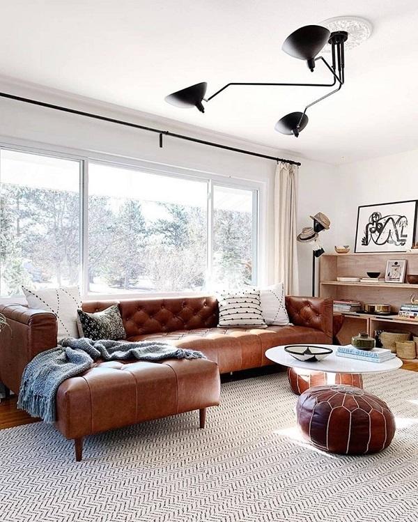 Mẫu ghế sofa góc 3m với phần đệm dày tạo cảm giác êm ái, thư giãn khi sử dụng. Với kích thước lên đến 3m, sofa có thể chứa từ 5 – 6 người ngồi đem đến không gian sử dụng rộng rãi, thoải mái nhất