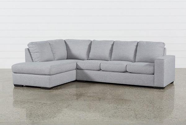 Với thiết kế kinh điển, là mẫu gốc của sản phẩm sofa góc L, màu sắc ghi xám chính là tất cả đặc điểm để khiến sản phẩm này nổi bật