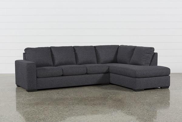 Với chất liệu là vải chỉ cùng màu đen mè, mang lại phong thái rất hiện đại và tươi mới, xu hướng đầu của sản phẩm mẫu sofa góc chữ L