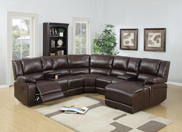 Mẫu sofa chữ U với họa tiết trơn, màu sắc tối giản rất thích hợp với phong cách cổ điển, vừa có thể là món đồ hiện đại, đặt tại bất cứ gian phòng nào
