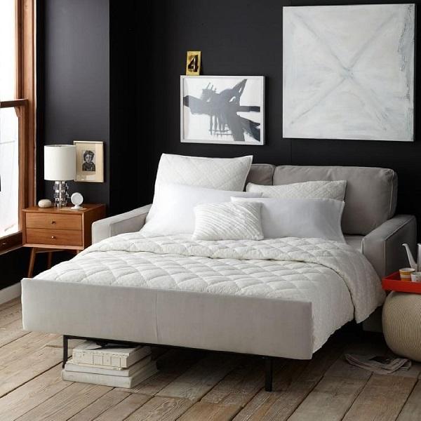 Thiết kế tựa chiếc giường mini giúp sản phẩm trở nên gần gũi và ấm áp hơn với người dùng.