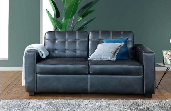 Sofa có kích thước nhỏ gọn nhưng vẫn mang lại sự tiện nghi cho không gian sống.