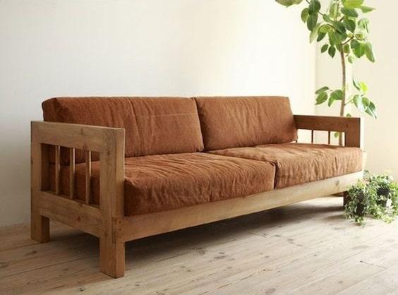 Sofa văng gỗ 2 chỗ thích hợp với những căn phòng được thiết kế theo phong cách hiện đại, mang lại nguồn năng lượng tích cực cho không gian sống.