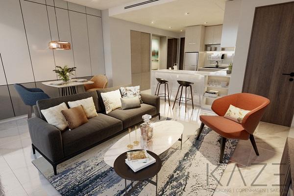 Nếu như sắc đen làm cho bộ sofa thêm sang trọng, nổi bật hơn thì chất liệu vải bọc cùng đệm mút êm mềm sẽ giúp người dùng thêm thoải mái hơn