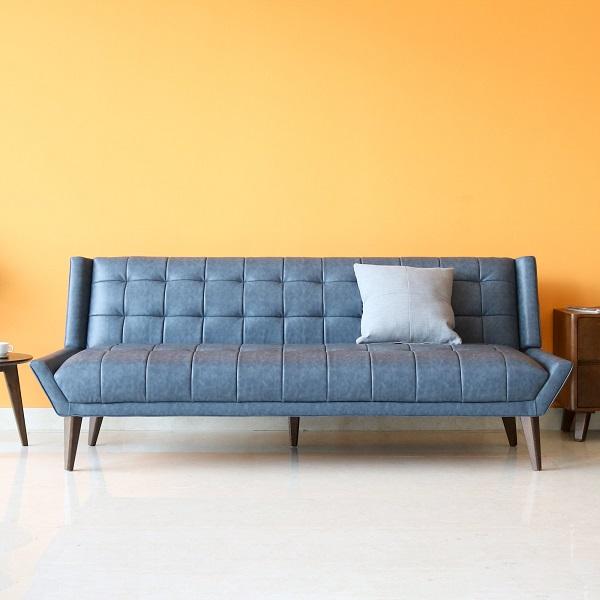 Chất liệu da PU cao cấp kết hợp với chất liệu mouse có độ cứng vừa phải giúp cho mẫu sofa này không chỉ có tính thẩm mỹ cao mà còn mang đến sự thoải mái cho người dùng chung cư