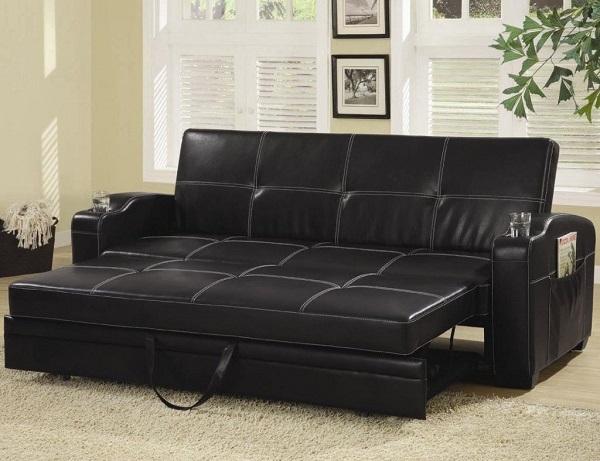 Phần đệm ghế phía dưới có thể kéo ra thành giường rộng mang đến chỗ nghỉ ngơi thoải mái và đầy tiện dụng cho người dùng