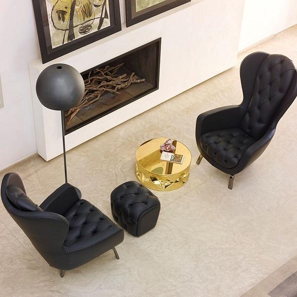 Chỉ cần kết hợp các sofa đơn với nhau, bạn đã tạo nên một bộ sofa ấn tượng cho không gian.