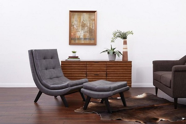 Gam màu xám bắt mắt kết hợp cùng nội thất cùng bộ mang đến không gian hài hòa, tiện nghi và hiện đại