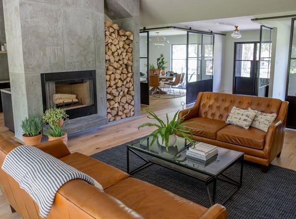 Bộ sofa da mini này sẽ mang đến sự sành điệu, thời thượng đến căn phòng của bạn