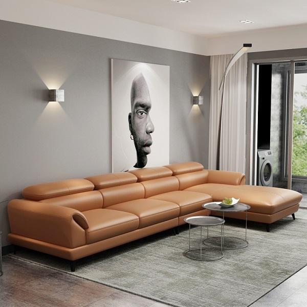 Mẫu sofa mang lại cảm giác thân thiện, gần gũi nhưng vẫn giữ được vẻ đẹp thanh lịch cho không gian làm việc.