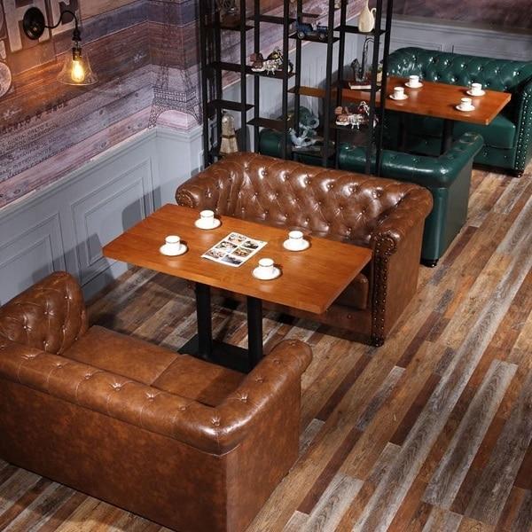 Hai mẫu sofa văng 1m2 này vừa tạo ra chỗ ngồi đẹp, tinh tế cho người dùng vừa mang lại sự đẳng cấp, cao sang và không khí hoài cổ cho không gian quán xá