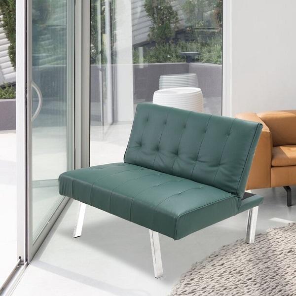 Để tăng sự vững chãi cho chiếc giường biến hóa, nhà sản xuất đã thiết kế thêm một đoạn đệm dưới nâng đỡ phần lưng phía trên khi kéo xuống kết hợp với 4 chân nâng inox vuông vắn, khỏe khoắn, sáng bóng, sang trọng