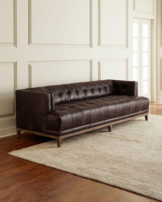 Sofa văng mang đậm vẻ đẹp Bắc u cổ điển, sang trọng, thời thượng.