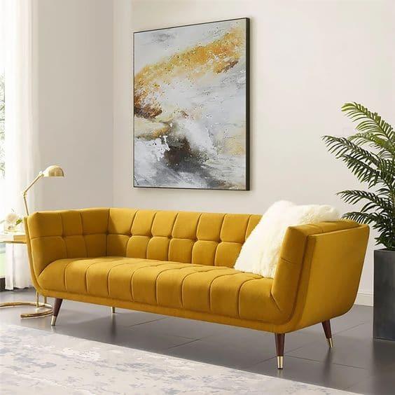 Chân ghế được thiết kế thoải mang lại cảm giác chắc chắn cùng kiểu dáng thanh lịch cho sản phẩm.