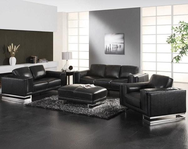 Gam màu đen được sử dụng nhiều trong các văn phòng bởi chúng mang lại vẻ đẹp iu nghiêm, quyền lực.