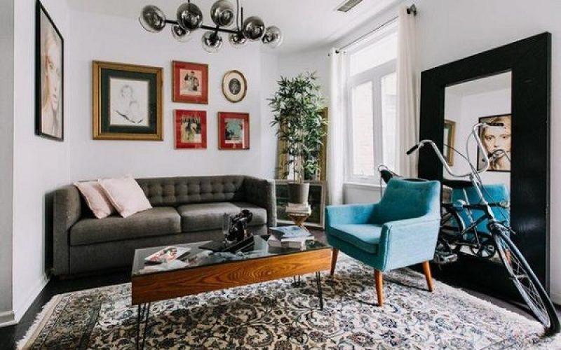 Đối với những căn phòng khách có diện tích hẹp thì sofa văng chữ I chính là một sự lựa chọn thông minh.