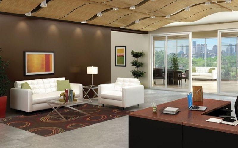Sử dụng những sofa màu sáng màu giúp tạo cảm giác nới rộng không gian.